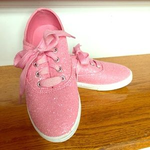 Other - Pink glitter tennis shoes